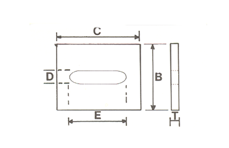 type-45-square-washer-oval-slot